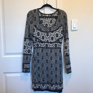 Free People Floral Bodycon Dress (NWOT)